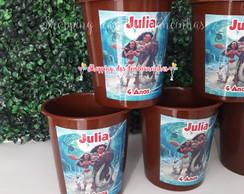 kit cinema personalizado moana