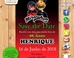 SAVE THE DATE DIGITAL - MIRACULOUS
