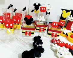 Kit Festa Personalizado do Mickey