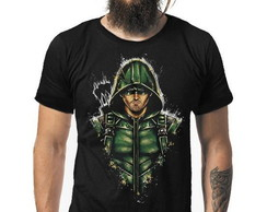 Camiseta Arrow - Oliver Queen / Arqueiro Verde cod2000140