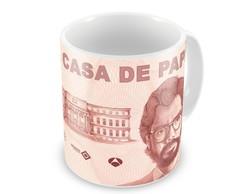 Caneca La Casa De Papel Professor Frase Elo7