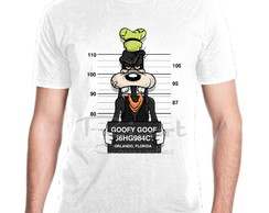 Camiseta Personagem Disney Pateta Prisioneiro