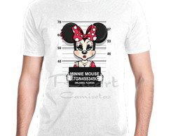 Camiseta Personagem Disney Minnie Prisioneira