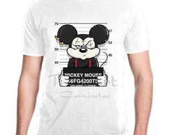 Camiseta Personagem Disney Mickey Prisioneiro