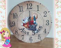 88e50c8e0c4 ... Placa   Painel Relógio Coelho