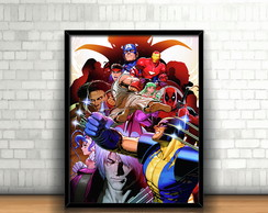 Quadro Marvel vs Capcom