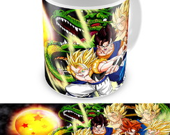 Caneca Dragon Ball Z com Esfera do Dragão Personalizada
