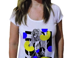 Camiseta Feminina Afro fashion Pop art - 21 Camiseteria