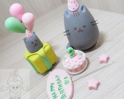 Meow pusheen happy birthday