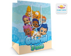 Sacolinha Grande Bubble Guppies