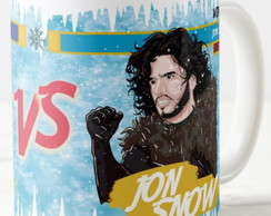Caneca Snow White VS Jon Snow