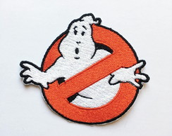 Patch Bordado Termocolante Caça Fantasmas