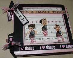Álbum decorado I Love Dance