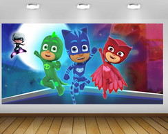 PAINÉL PJ MASKS 2X1M - ARQUIVO DIGITAL