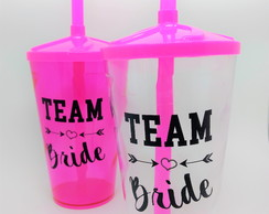 Team Bride Copos Team Bride Lembrancinha Team Bride