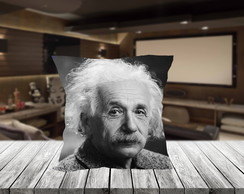 Almofada Cinema Einstein Decorativa 42x42