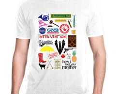 Camiseta Serie How I Met Your Mother Mod 01