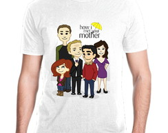 Camiseta Serie How I Met Your Mother Mod 14