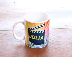Caneca sublimada personalizada - cinema Hollywood