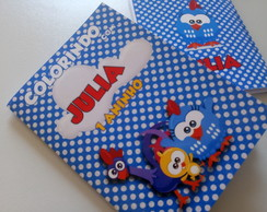 Kit Colorir M 10cm x 15cm Galinha Pintadinha Mini