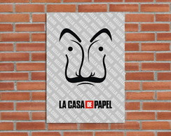 Poster Digital La Casa de Papel (Arquivo A3 para download)
