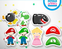 Aplique do Super Mario
