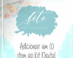 Adicionar 1 item ao kit digital