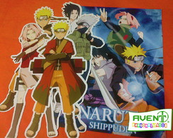 Kit de Recortes decorativos Naruto Shippuden