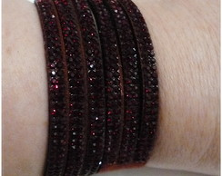 Bracelete bordô