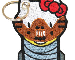 Chaveiro Hello Kitty - Serial Killer Hannibal Lect DV80623C