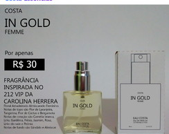 Vendo Perfume In Gold Femme 30 ml