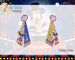 Caixa Cone O Circo do Mickey