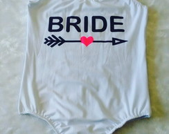 Body de noiva personalizado Team Bride Despedida