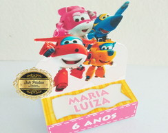 Porta chocolate Super Wings