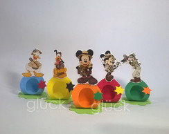 Porta bombom de EVA - Turma do Mickey Safari