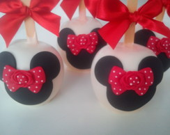 "Maçã de Chocolate ""Minnie"""