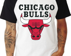 Camiseta Chicago Bulls Raglan