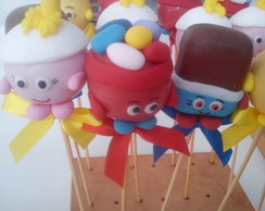 "Pop cake ""Shopkings"""""