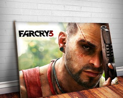 Placa Decorativa Far Cry 1-30x20cm