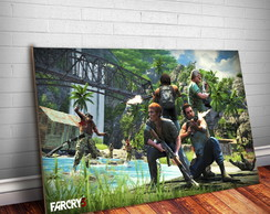 Placa Decorativa Far Cry 11-30x20cm