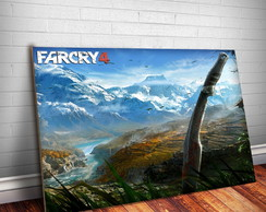 Placa Decorativa Far Cry 3-30x20cm