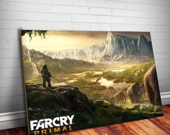 Placa Decorativa Far Cry 7-30x20cm