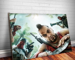 Placa Decorativa Far Cry 8-30x20cm
