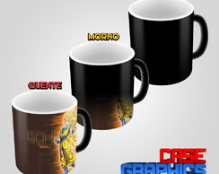 Caneca Mágica Dragon Ball GT Goku Super Sayajin