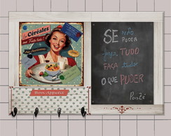 Quadro Negro Ganchos Housewives