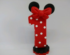 Vela de biscuit Minnie