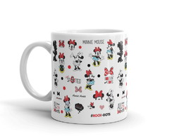 Caneca Minnie Rocks The Dots