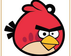 Chaveiro - Angry Birds - Red