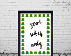 "Arte Digital ""Good Vibes Only"""