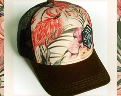 Boné Trucker Flamingo